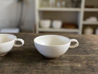 スープカップ白の画像