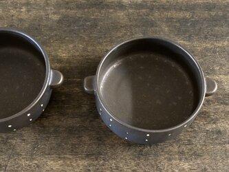 水玉グラタン皿(康さまご予約品)の画像