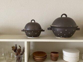 水玉コロン鍋(5合炊き)の画像