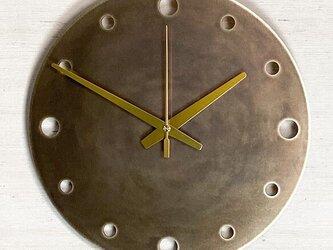 オリジナル真鍮時計_アンティーク調の画像