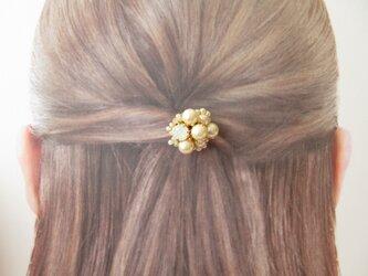 Hair Accessory ポニーフック スワロフスキー(K0981)の画像