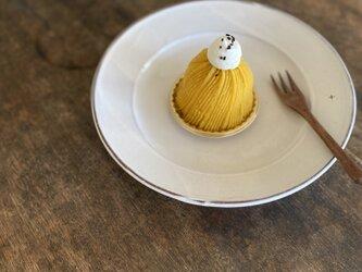 粉引リム皿+8寸の画像