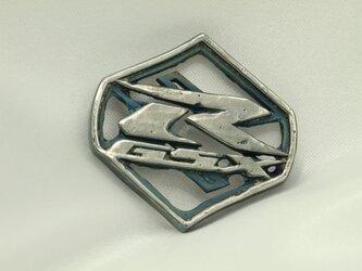 GXSR Sマークキーホルダー高級希少金属コバルト製の画像