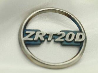 ZRX1200DAEG型式カワサキマークキーホルダー高級希少金属コバルト製の画像