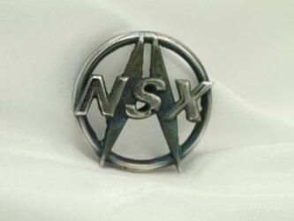 NSXアキュラマークキーホルダー高級希少金属コバルト製の画像
