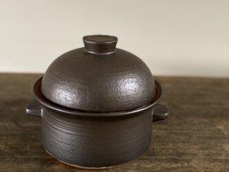 黒釉土鍋の画像