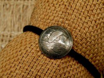 #H167 USA Coin Hair Elasticの画像
