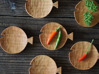 魚の豆皿[Φ60] チェリーの画像