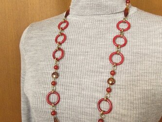Necklace アゲート(N1236)の画像