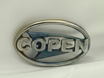 COPENダイハツマークキーホルダー高級希少金属コバルト製の画像