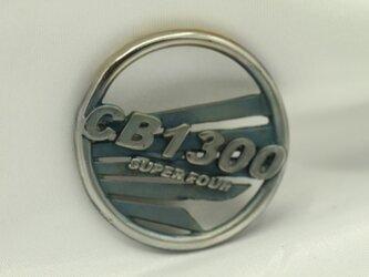 CB1300SFウイングマークキーホルダー高級希少金属コバルト製の画像