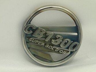 CB1300SBウイングマークキーホルダー高級希少金属コバルト製の画像