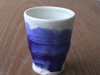 瑠璃流しカップの画像