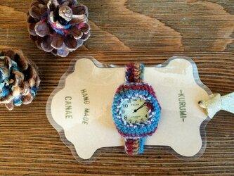 kurumi時計 -WOOL- (大)  size:Mの画像