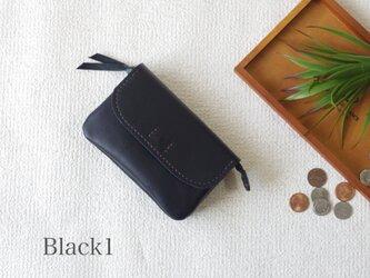 柔らかなお財布(Black1)の画像