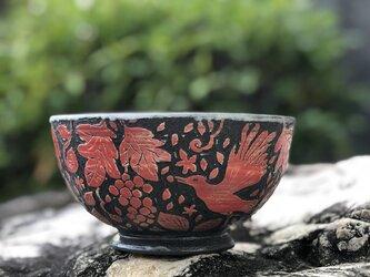 Kakiotoshi bowl - 実りを喜ぶの画像