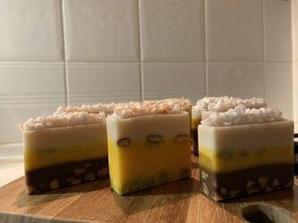 Sweets Savon  低温圧搾&オーガニック&未精製  Nuts orange latteの画像
