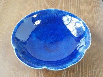 zao blue輪花皿の画像