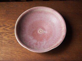 桜釉輪花平鉢の画像
