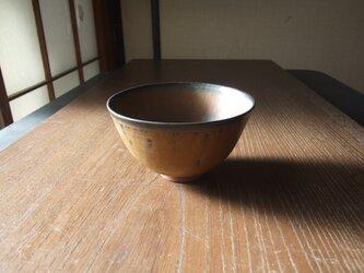 鉄釉茶碗 の画像