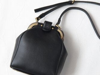 【受注生産】レトロなミニサイズのドクターズバッグ Blackの画像