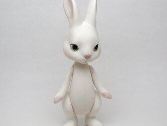 Rabbit Bisque doll うさぎ ビスクドール 人形の画像