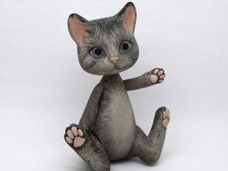 Cat Bisque doll ねこ ビスクドール 人形の画像