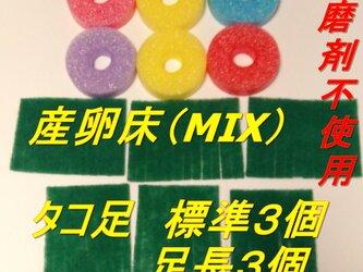 メダカ 産卵床(ミックス) ※研磨剤不使用の画像