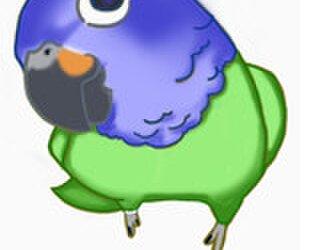 小川様専用ご注文ページ:コミドリコンゴウインコ mini♪リアル♪☆足付タイプ(付属金具無し) 羊毛フェルトの画像