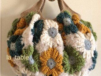 花たくさんのバッグ「COOL FLOWERS 12」の画像