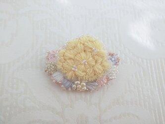 #5 刺繍ブローチ Bouquetの画像