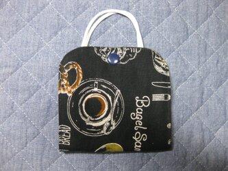 マスク仮置きケース《サンドウィッチ*ブラック》の画像