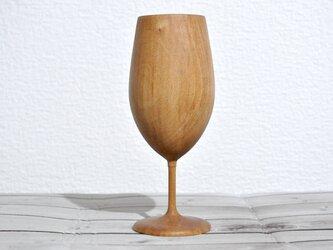 木のワイングラス③(リョウブ)の画像