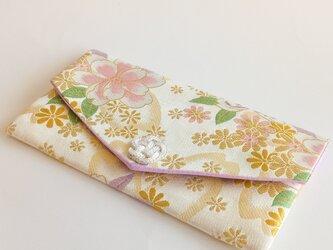 桜と洋花のマスクケース ー春待ちーの画像