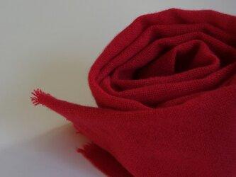 「Tさまご依頼品」手織りカシミアマフラー・・ローズピンクの画像