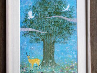 絵画「宿る樹」の画像