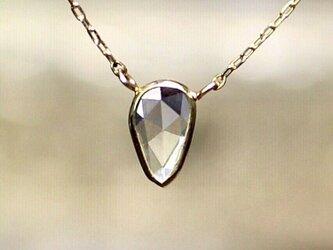 Rosecut Diamond Necklace / K18YGの画像
