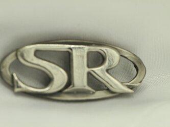 SRエンブレム シルバー(SV925)製キーホルダーの画像