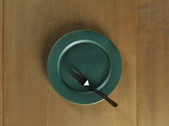 リムプレート6寸/緑の画像