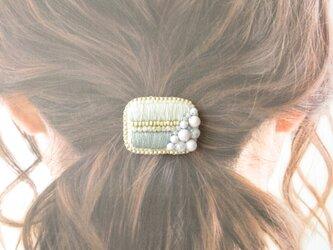 Hair Accessory ポニーフック ビーズ刺繍(K0983)の画像