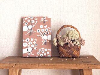 「 bouquet (milk chocolate) 」 ファブリックパネルの画像
