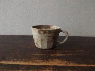 粉引きマグカップ(赤い実)の画像