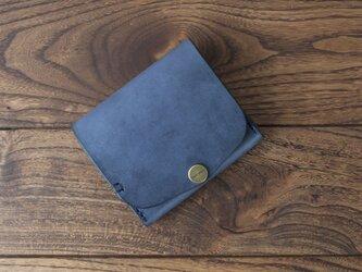 BRIDLE  二つ折り財布/ ネイビー※受注製作の画像