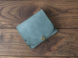 BRIDLE  二つ折り財布/ グリーン※受注製作の画像