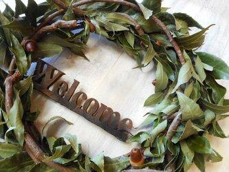 Welcome Wreath Ф45センチの画像