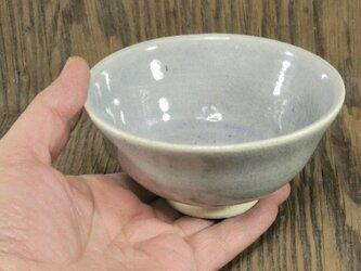 陶器 ご飯茶碗(大) 青灰色【210106】の画像