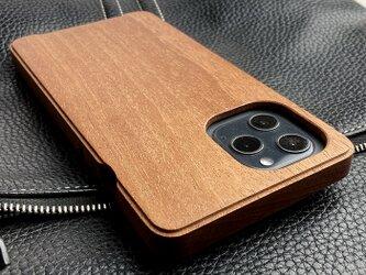 【受注生産】実績と安心サポート iPhone 12 promax  専用木製ケースの画像