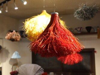 紙束nest 浮かぶ鳥の巣 赤 ※アロマオイル可の画像