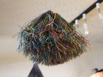 紙束nest 浮かぶ鳥の巣 緑カラフル ※アロマオイル可の画像