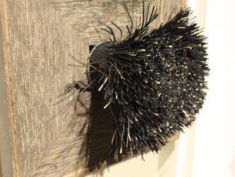 額装 紙束かべかけ 大 黒金 紙束×タクラマカン コラボの画像